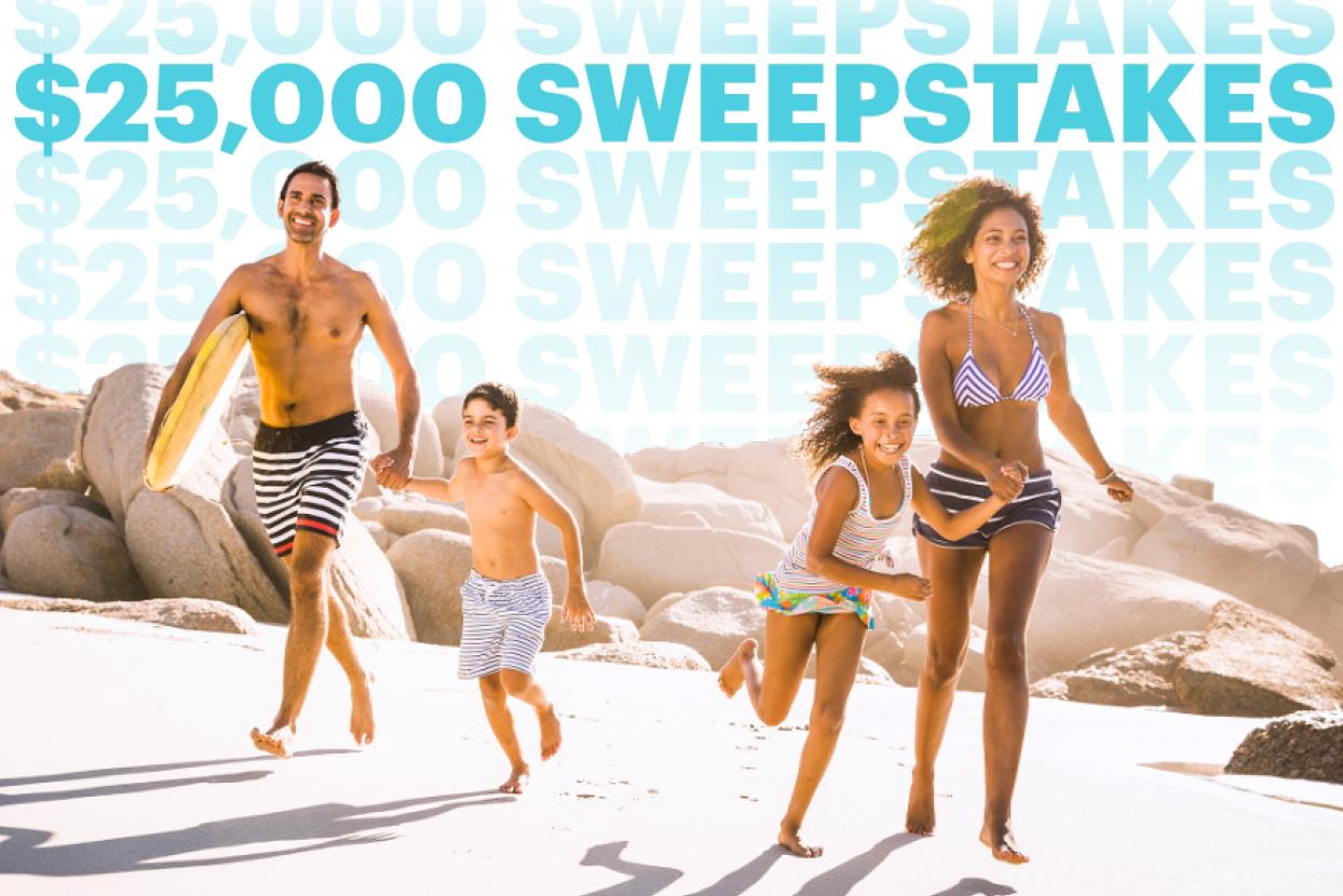 $25,000 Sweepstakes