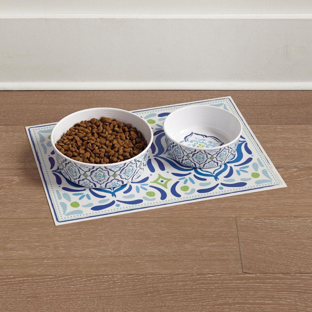 Tile Pet Bowls & Placemat