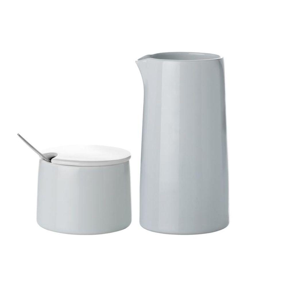 Milk Jug with Sugar Bowl