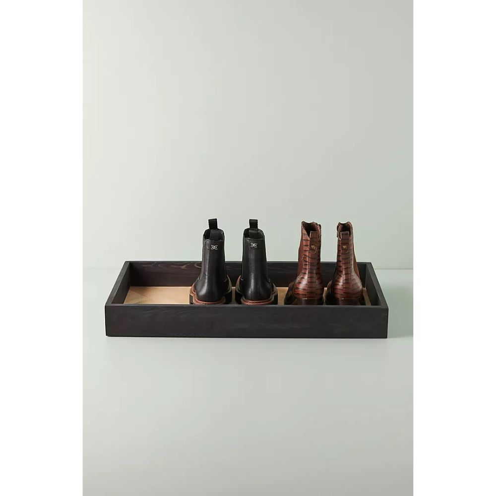 Marquetry Boot Tray