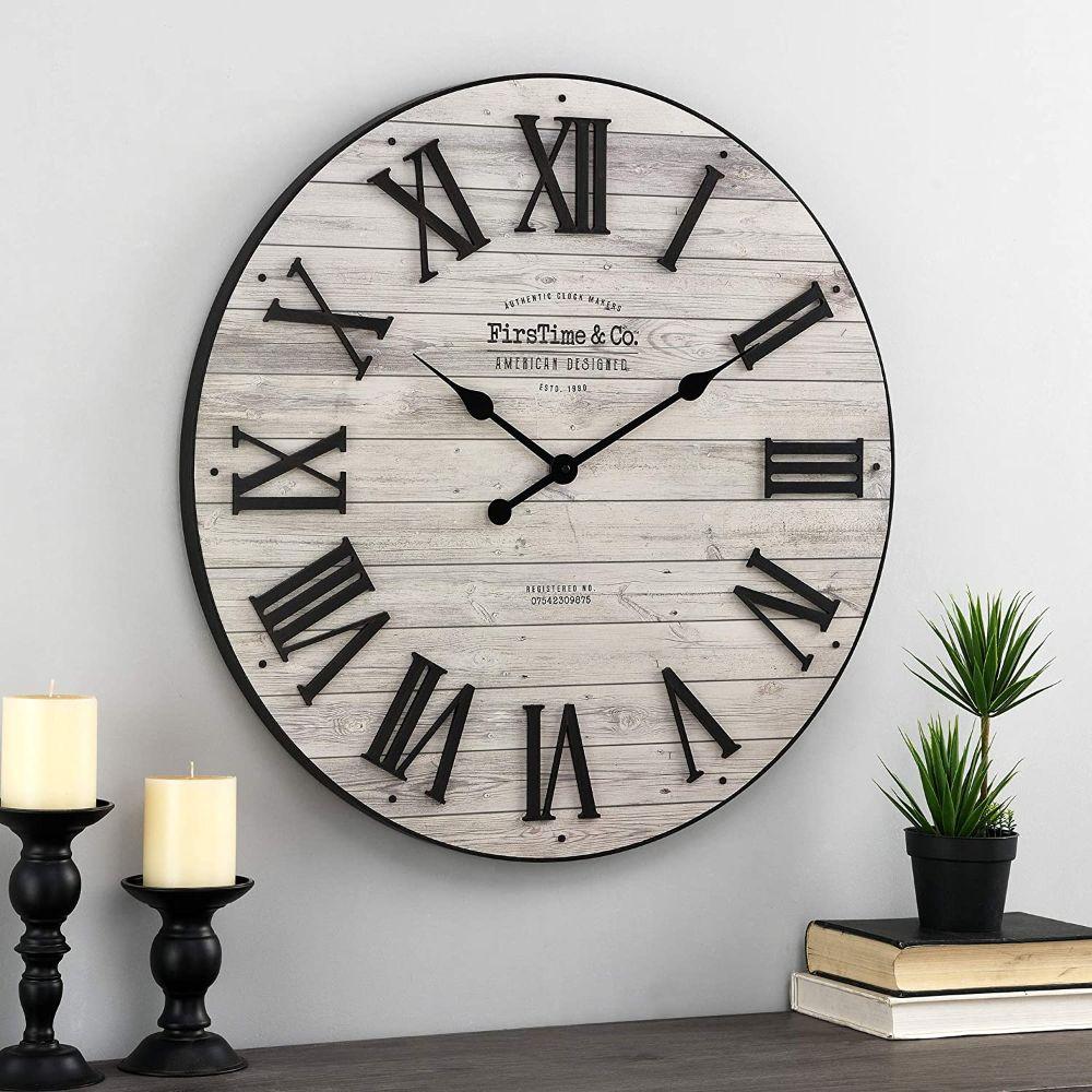 Farmhouse Shiplap Clock