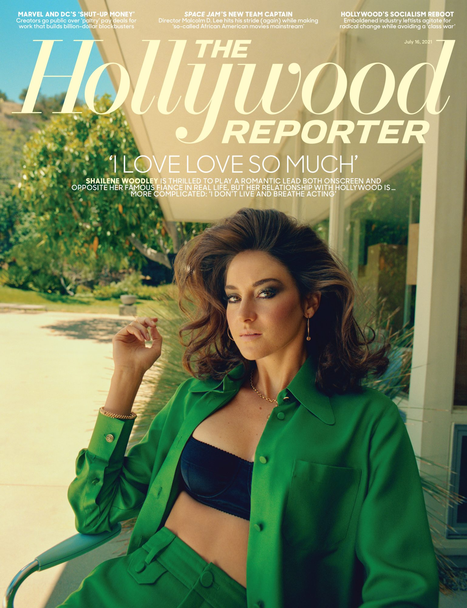 Shailene Woodley for the Hollywood Reporter