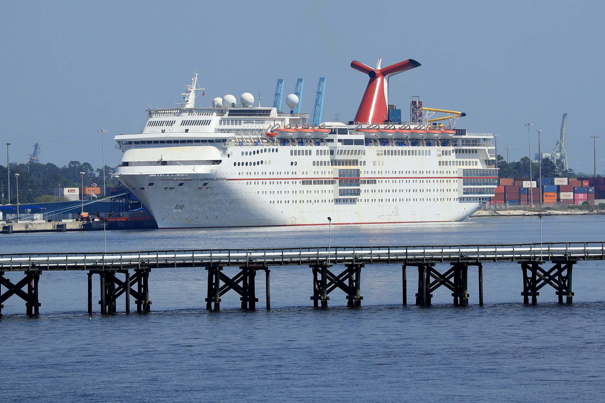 A Carnival cruise ship. Carnival is a member of the Cruise Lines International Association.