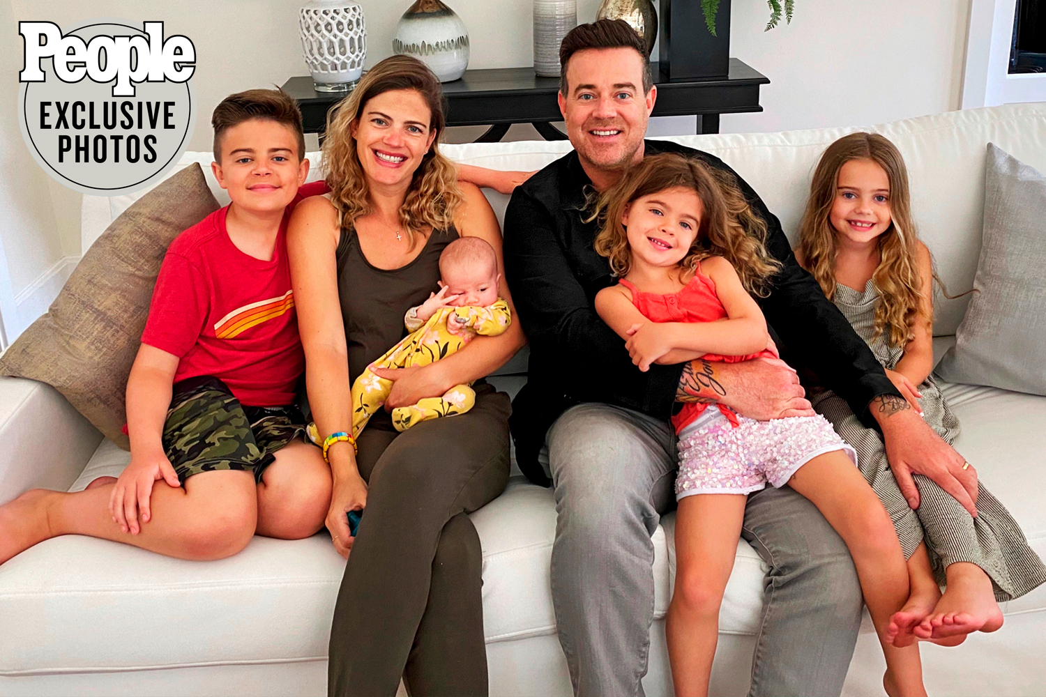 carson daly and family