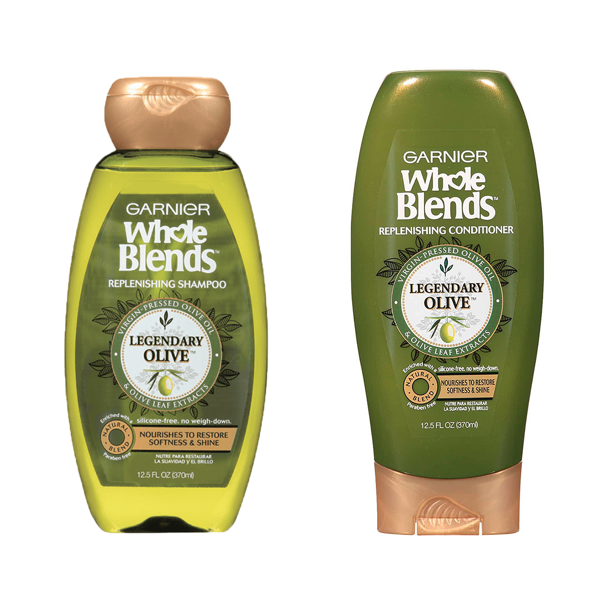Garnier Whole Blends Legendary Olive Shampoo and Conditioner