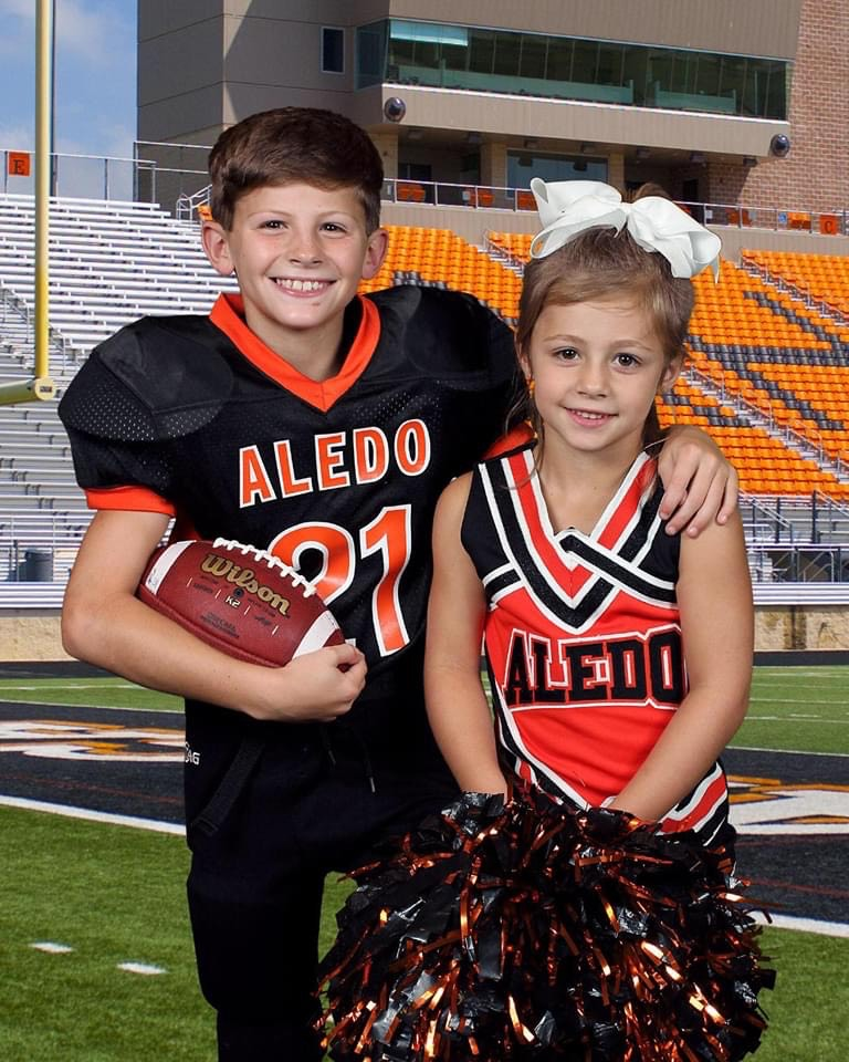 hayden hunstable and his sister