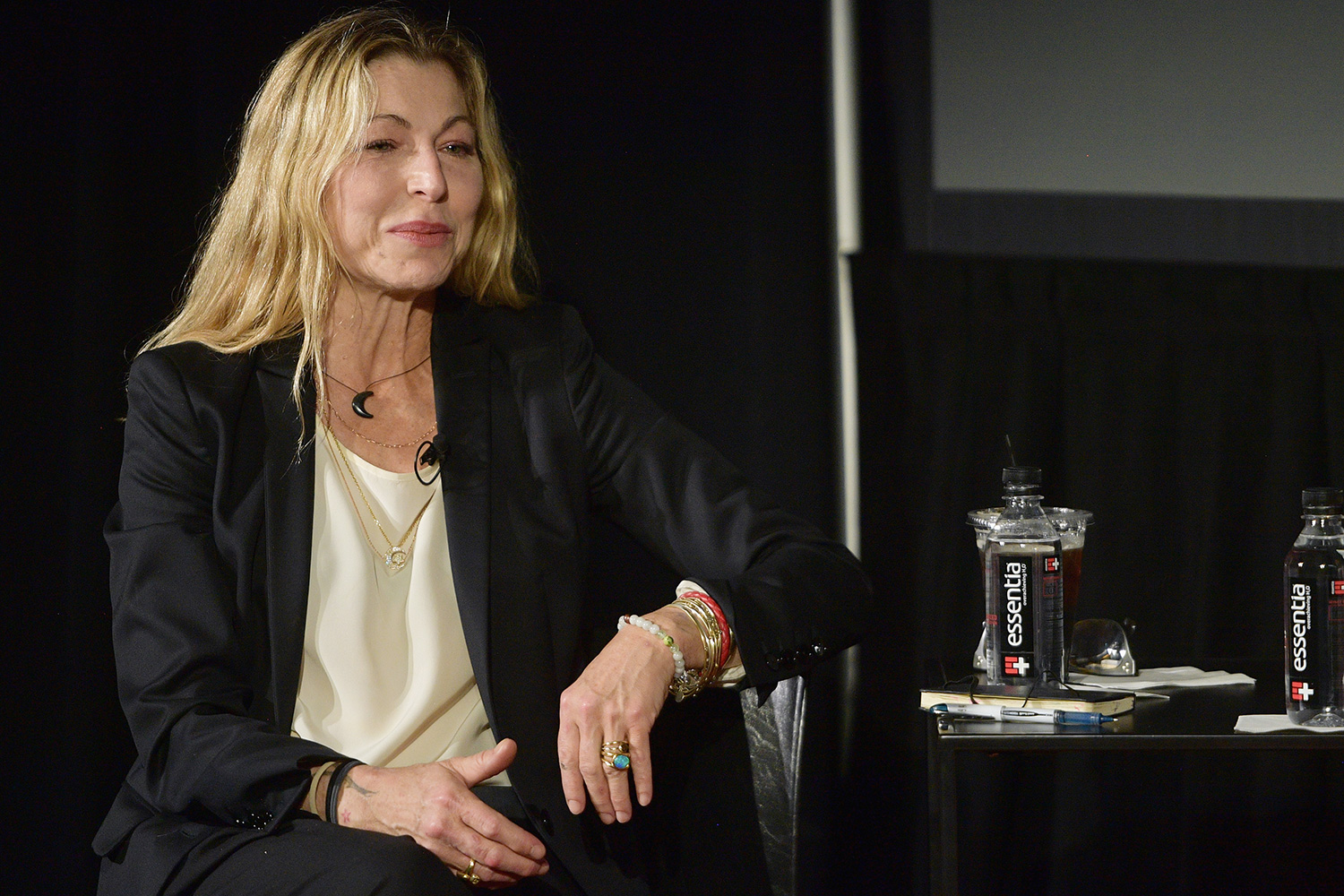 Tatum O'Neal attends the 'Chloe Grace Moretz in conversation with TK' during Vulture Festival presented by AT&T at Hollywood Roosevelt Hotel on November 17, 2018 in Hollywood
