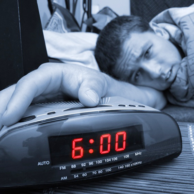 Get the same number of hours of sleep every night