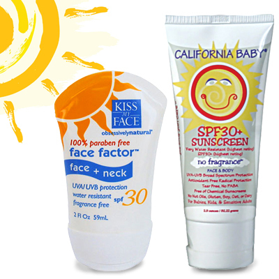 Practice sunscreen safety