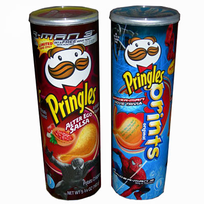 Spiderman Pringles