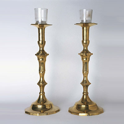 two-brass-candlesticks