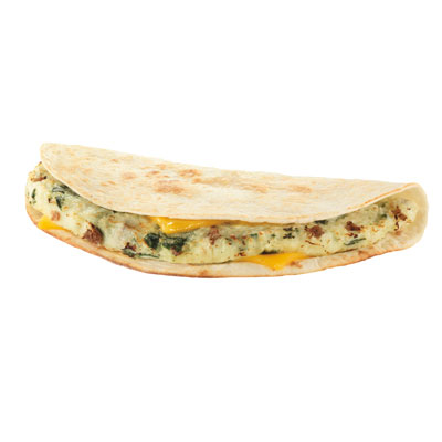 No. 9 Egg White Turkey Sausage Wake-Up Wrap (Dunkin' Donuts)