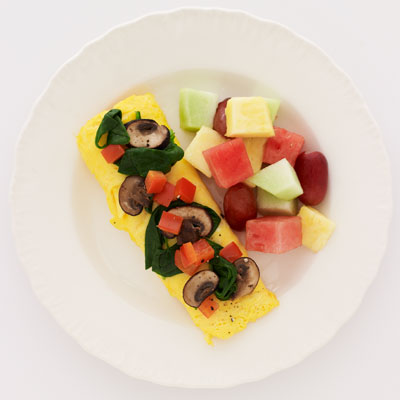 No. 7 Simple & Fit Veggie Omelette (IHOP)