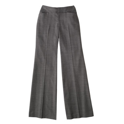 Flared trouser pants