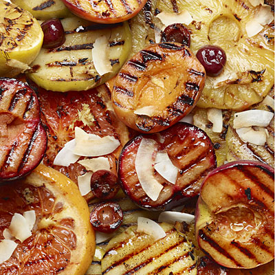 Grilled Ginger Fruit
