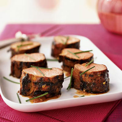 Fig and Chile-Glazed Pork Tenderloins