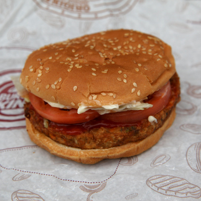 Best meatless drive-through burger