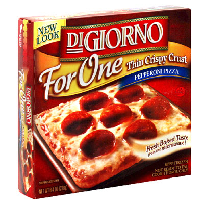 DiGiorno for One Pepperoni Thin Crispy Crust