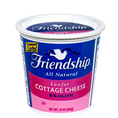 Friendship 1% Low-Fat Cottage Cheese