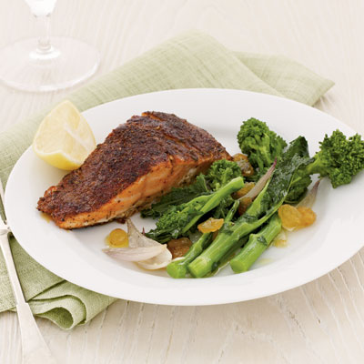 salmon-broccoli-rabe