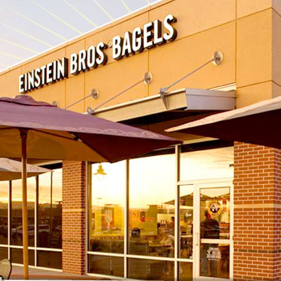 No. 9 Einstein Bros. Bagels
