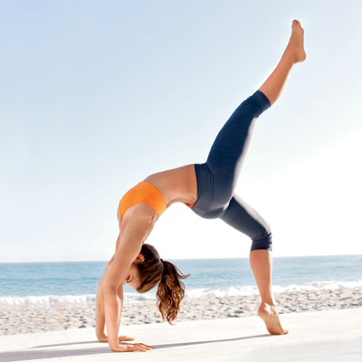 4. Fave yoga challenge: Wheel Pose