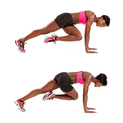 Core: Rotational mountain climber