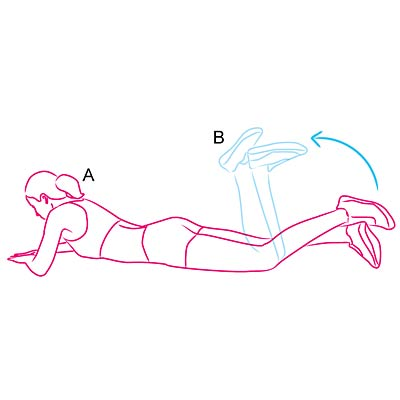 Single-Leg Prone Curl