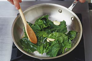 spinach-iron