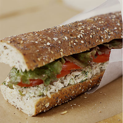 Rosemary Tuna Salad Baguette