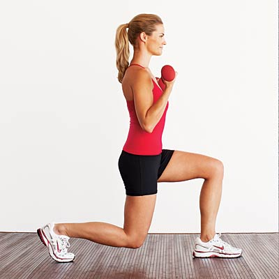 workout-lunge-curls