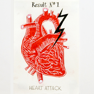 Result No. 1:  Heart attack