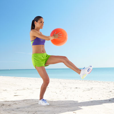 Cardio Move: Summer Soccer Kick