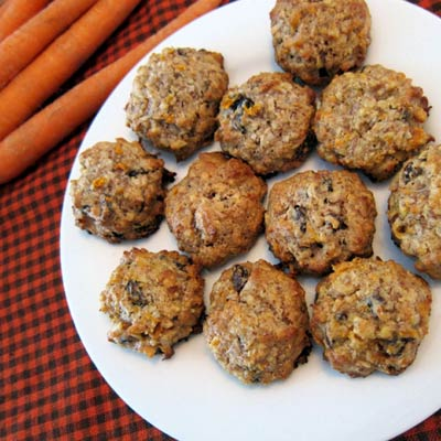 Gluten-Free Carrot Cake Cookies