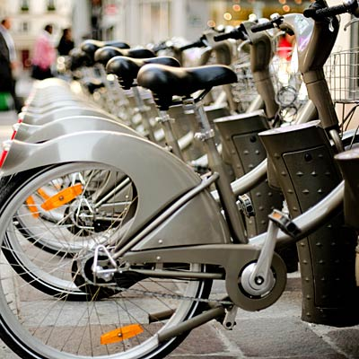 Best: Bike-sharing programs