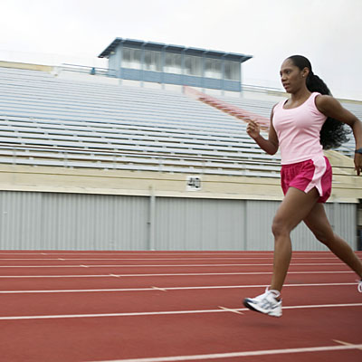 Try a track workout