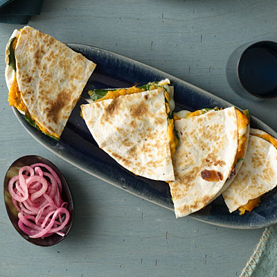 healthy-dinner-ideas-sweet-potato-spinach-quesadillas