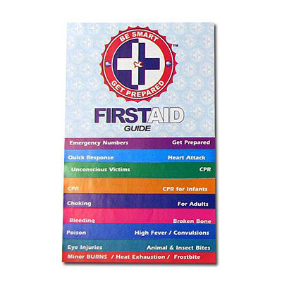 First aid instruction