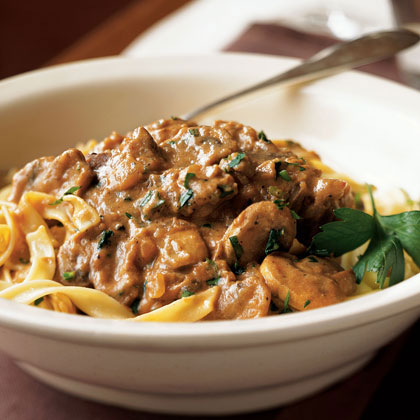 Quick-and-Easy Beef Stroganoff