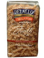 DeLallo organic whole-wheat fusilli
