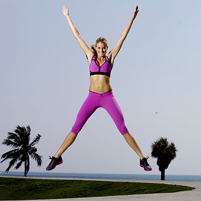 Does your workout make you jump for joy?