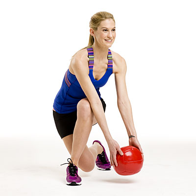 Lower body: Skater lunge
