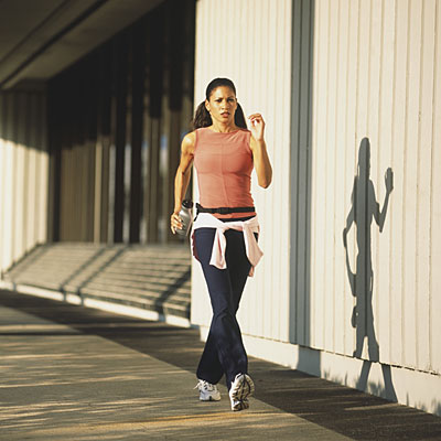 Tone up in town: The walk