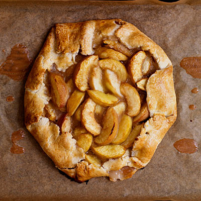 White Peach Crostata