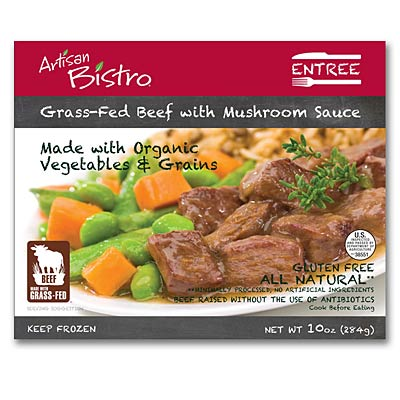 Artisan Bistro Grass-Red Beef in Mushroom Sauce