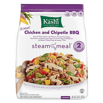 Kashi Steam Meal Chicken Chipotle BBQ