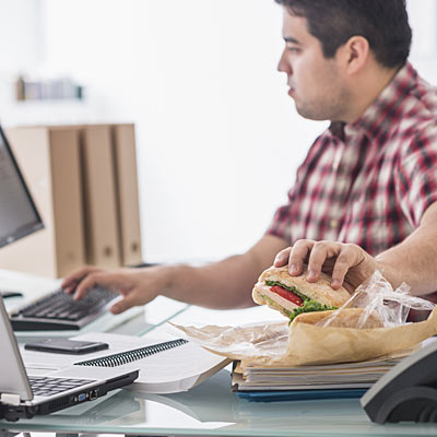eating-at-your-desk