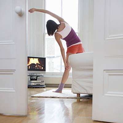 exercise-in-living-room