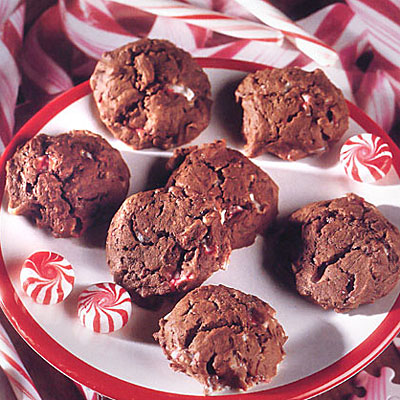chocolate-peppermint-cookies