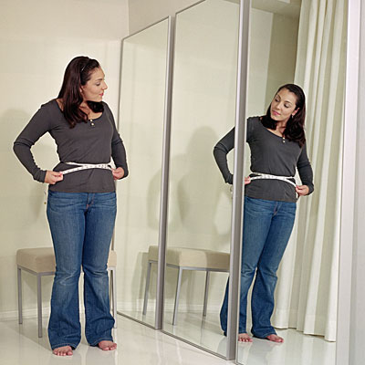 lose-weight-mirror-waist